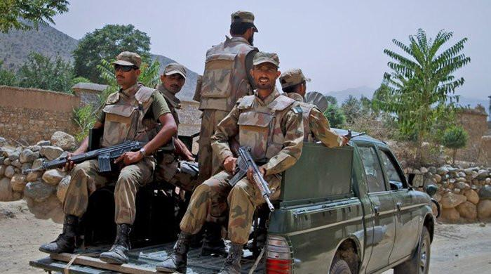 Security forces gun down banned outfit's provincial chief