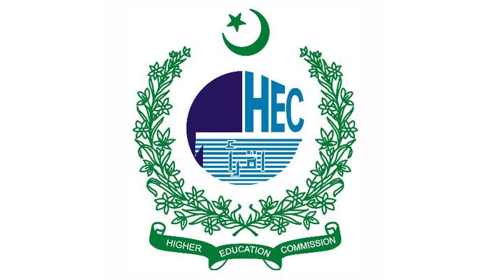 The logo of the Higher Education Commission (HEC). — Twitter/hecpkofficial