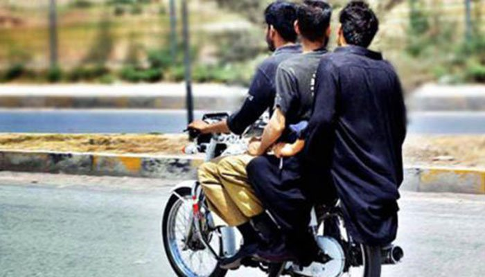 Complaints to be registered against the violation of ban on pillion riding— APP