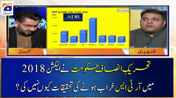 PTI Govt ne 2018 Election Main RTS Fail Hone ki Tehqeeqat Kyun Nahin Ki?