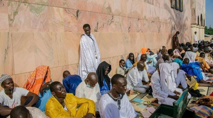 Sufi pilgrims descend on Senegal's holy city