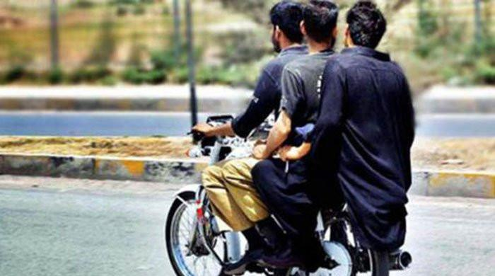Sindh bans pillion riding in Karachi, other districts due to security reasons