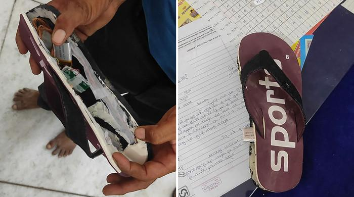 10 Indian would-be teachers arrested for using Bluetooth flip-flops to cheat