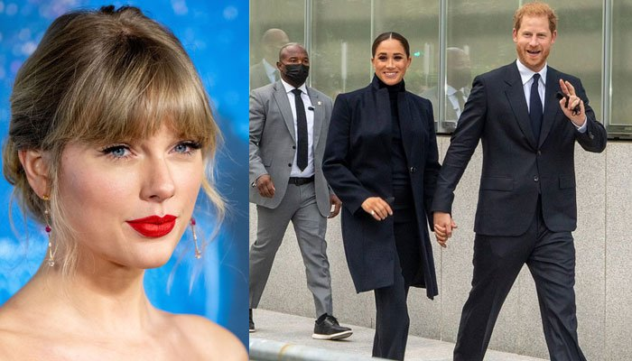 Prince Harry and Meghan Markle protected by Taylor Swifts bodyguards on NYC trip