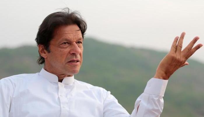A file photo of Prime Minister Imran Khan