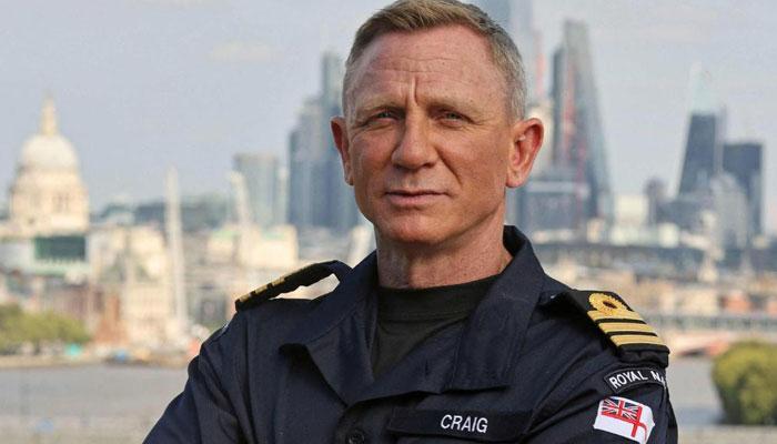 James Bonds Daniel Craig is now a real life UK Navy officer