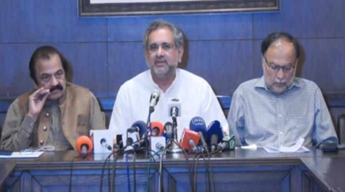 Shahbaz Sharif NCA probe: Govt embarrassing itself, says Shahid Khaqan Abbasi