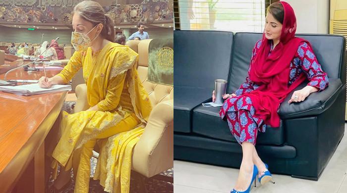 Sharmila Faruqi lavishes praise on Maryam Nawaz's 'impressive' dressing