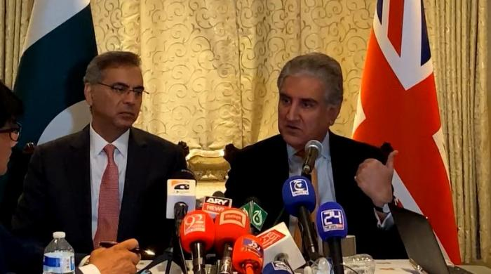 Qureshi suggests UK, Pakistan form 'joint working groups' to address rights abuses in India-occupied Kashmir