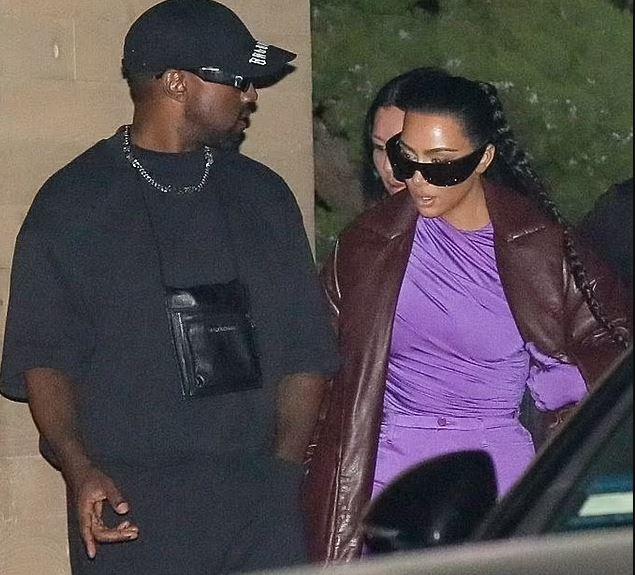 Kim Kardashian, Kanye West grab dinner together amid divorce
