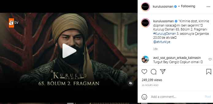 Kurulus: Osman Season 3 release date announced
