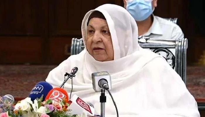 Minister for Health Punjab Dr Yasmin Rashid. — Online/File