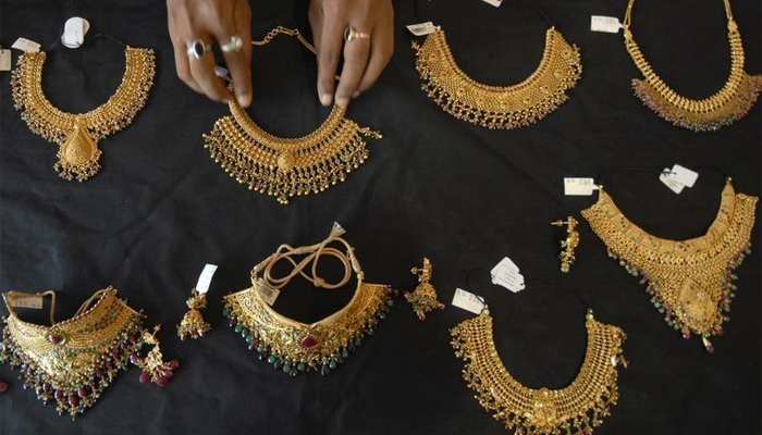 Some jewellery are being displayed in this picture. — Reuters/File