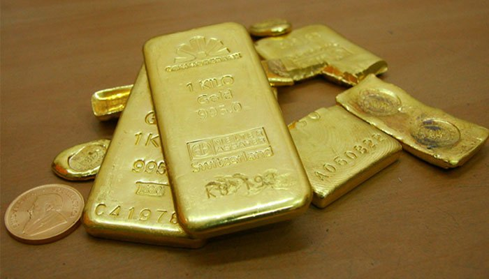 The international gold price increase by $11 per ounce to $1,757.— Reuters/File