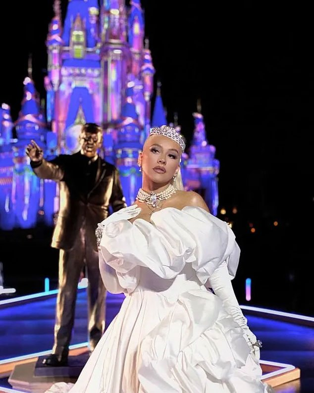 Christina Aguilera Takes 'Moment of the Loop' with Disney on 50th Anniversary