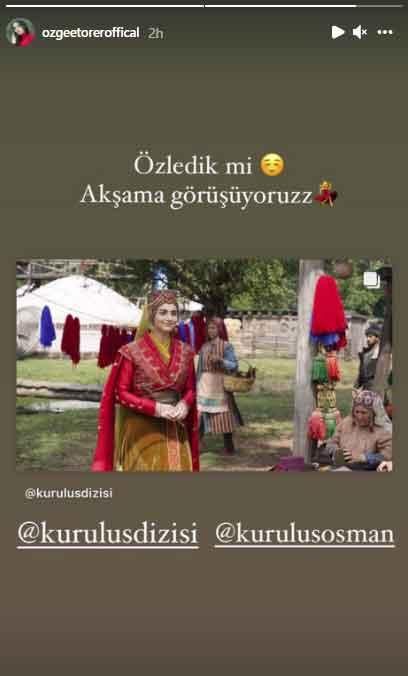 Bala Hatun actress shares new look from Kurulus:Osman season 3