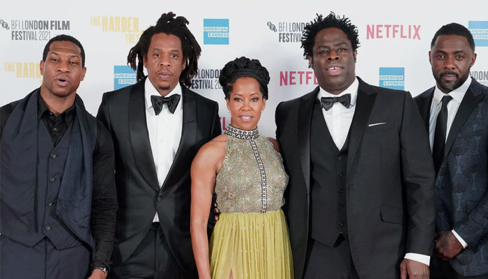 The movie, a directorial debut for Londoner Jeymes Samuel, showcases an array of black talent