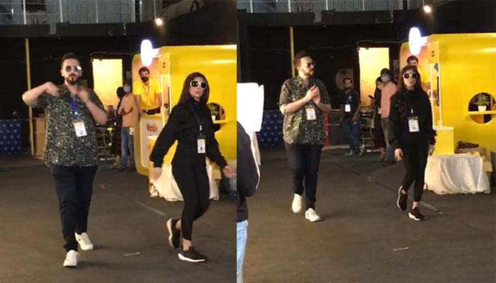 GEO LSA 2021: Watch Ayesha Omer, Dino Ali in their full element BTS
