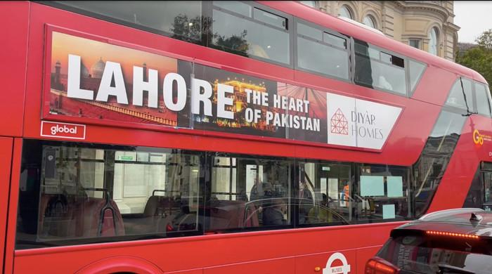 'Lahore — The Heart of Pakistan' buses go live in London