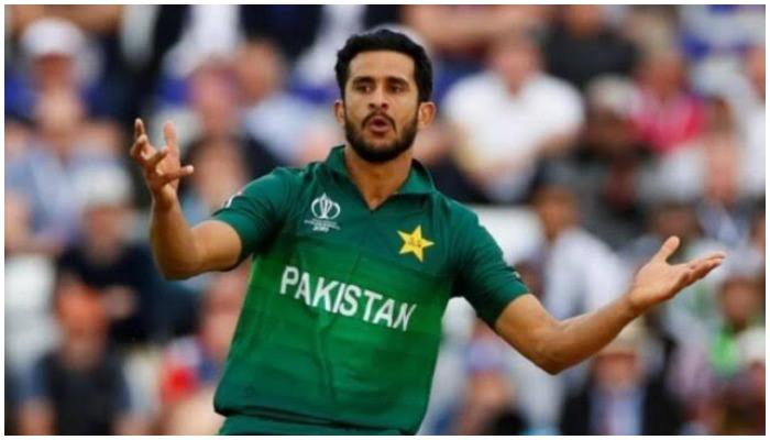 Pakistani cricketer Hassan Ali. Photo: Reuters