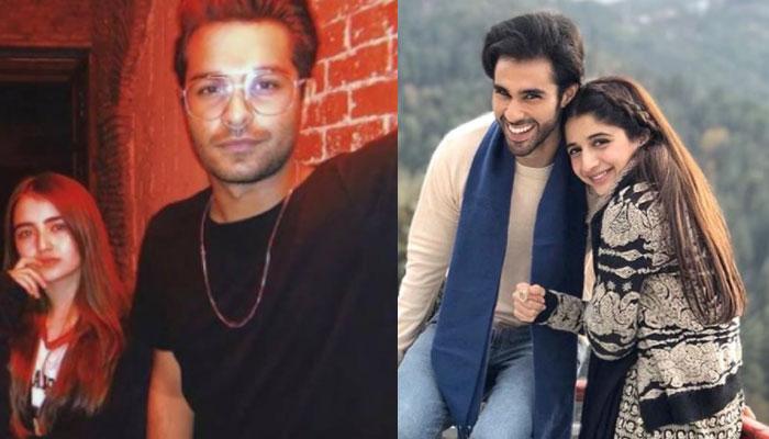 Rumoured couples Asim Azhar, Meerub and Mawra Hocane, Ameera Gillani spotted at GEO LSA 2021