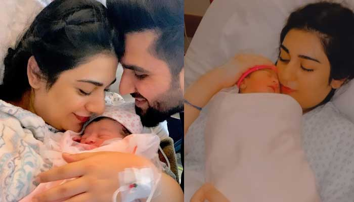 Sarah Khan's first video with newborn daughter Alyana receives love