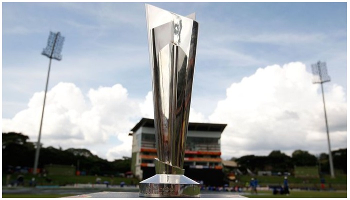 T20 World Cup trophy. Photo: ICC Mens T20 World Cup