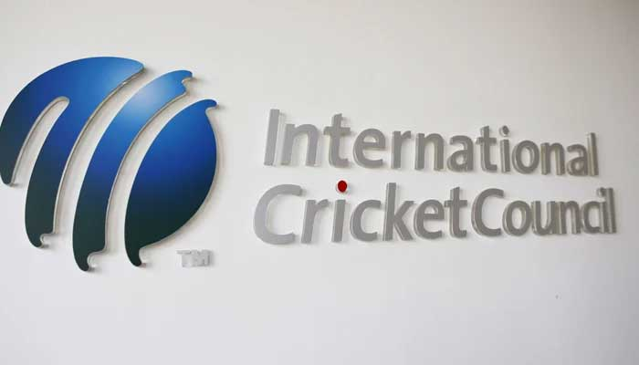 The International Cricket Council (ICC) logo at the ICC headquarters in Dubai, October 31, 2010. — Reuters/File.