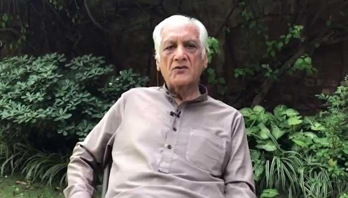Former PCB chairman Khalid Mehmood. Photo: YouTube screengrab