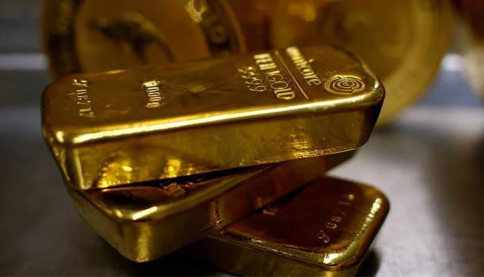 Gold bars. — AFP/File