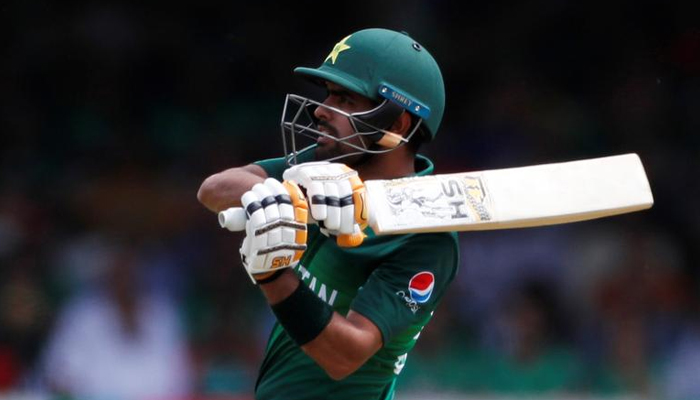 Cricket - ICC Cricket World Cup - Pakistan v Bangladesh - Lords, London, Britain - July 5, 2019 Pakistans Babar Azam in action. — Reuters/File