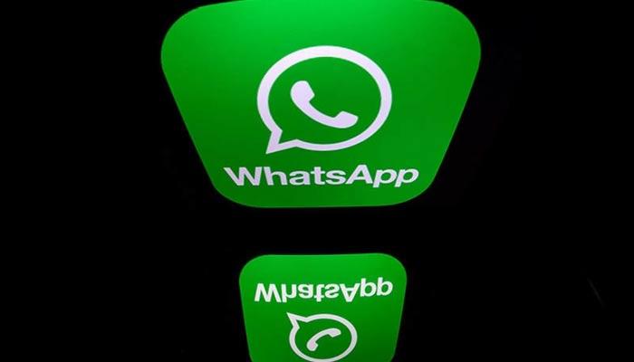 WhatsApp logo. — AFP/File