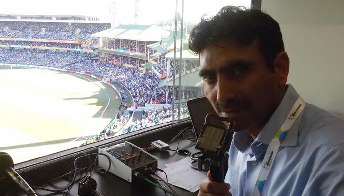 Pakistani commentator Tariq Saeed. — Twitter/File