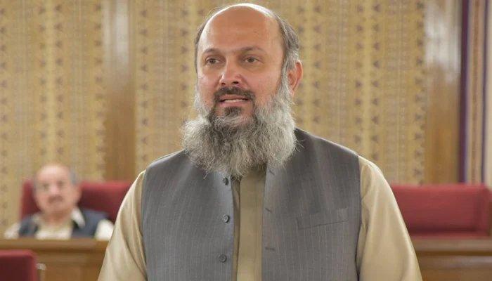 Chief Minister of Balochistan Jam Kamal Khan Alyani. Photo: Twitter