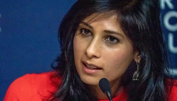 IMF chief economist Gita Gopinath. File photo
