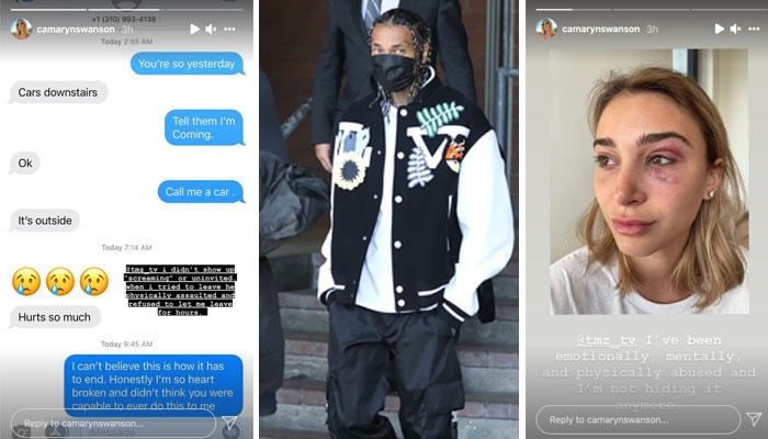 Tyga taken into custody on felony domestic violence charge
