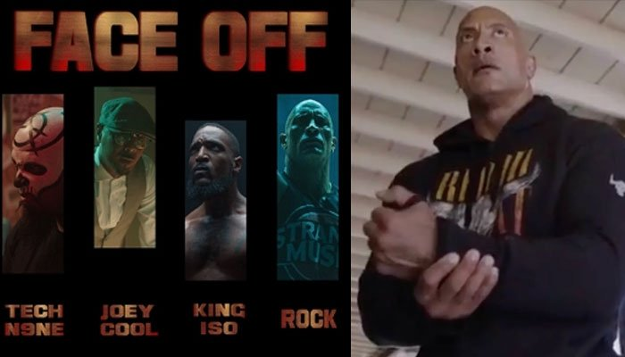Dwayne Johnson gushes over 'Face Off's success on YouTube