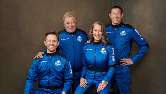 'Star Trek' star Shatner space-bound with Blue Origin