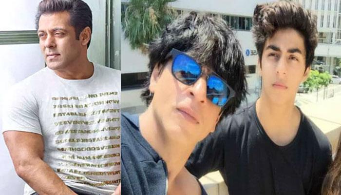 Salman Khan re-visits Mannat amid Aryan Khans ongoing bail plea hearing