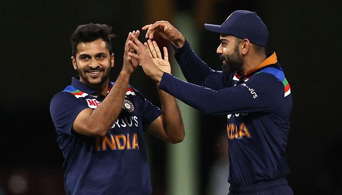 Indian skipper Virat Kohli (right). — ICC/File