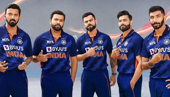 (left-right) KL Rahul, Rohit Sharma, Virat Kohli, Ravindra Jadeja and Jasprit Bumrah. — Twitter/@BCCI