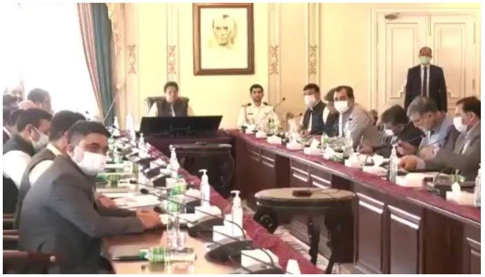 Screengrab from the video shared by Prime Ministers Office. Twitter/ @PakPMO