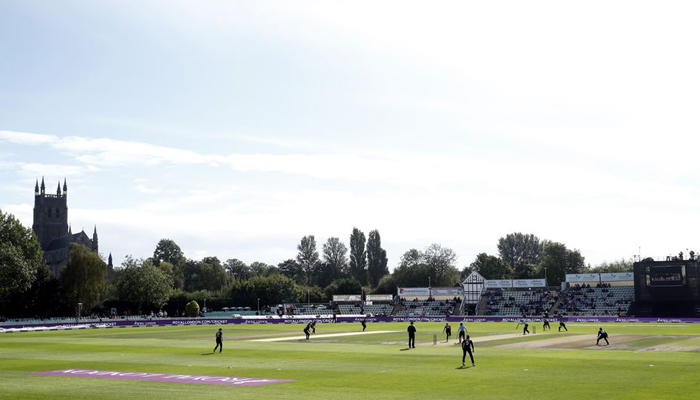 Cricket - Women - One Day International - England v New Zealand - County Ground, Worcester, Britain - September 19, 2021, general view during the match. — Reuters/Andrew Boyers/File