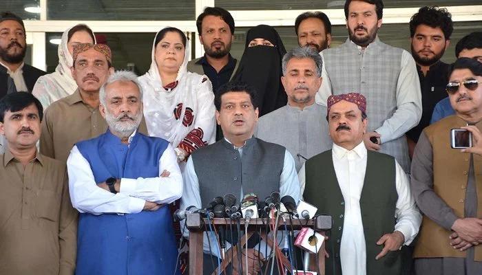 Resignations of Zahoor Buledi, Sardar Abdul Rehman Khetran, and Asad Baloch have been accepted. —Twitter/File