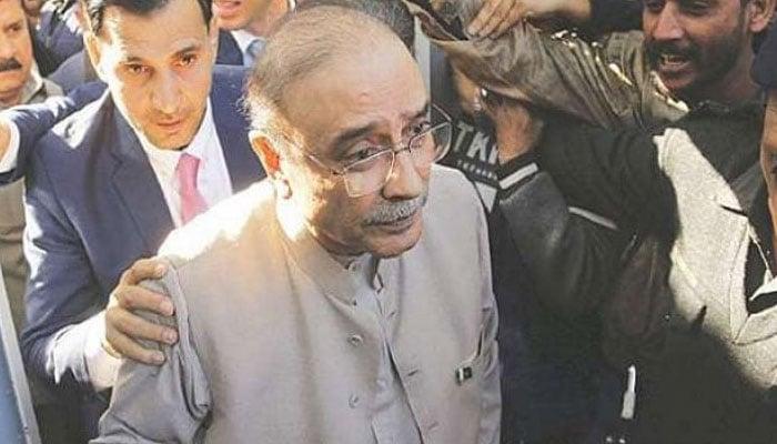 PPP co-chairman Asif Ali Zardari. —