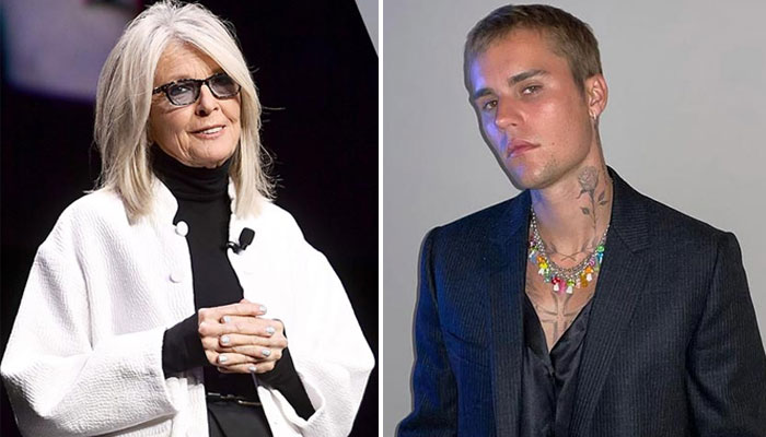 Diane Keaton recalls experience working with Justin Bieber for 'Ghost' MV