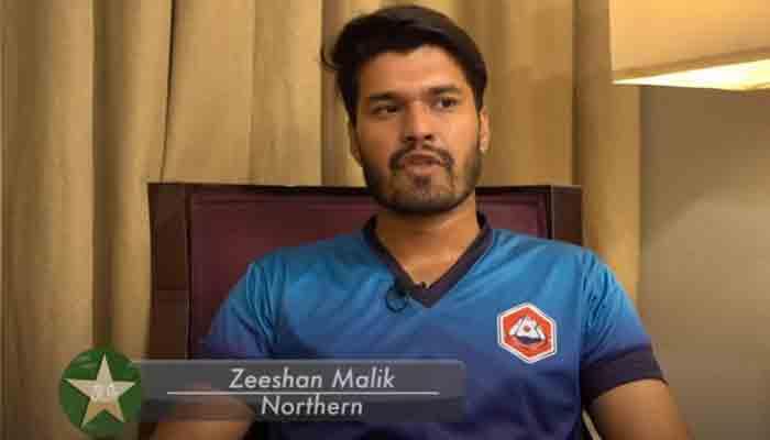 Northen player Zeeshan Malik.