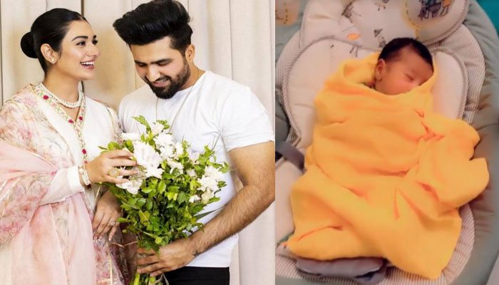 Falak Shabir loves father-daughter time with babygirl Alyana: See Photo