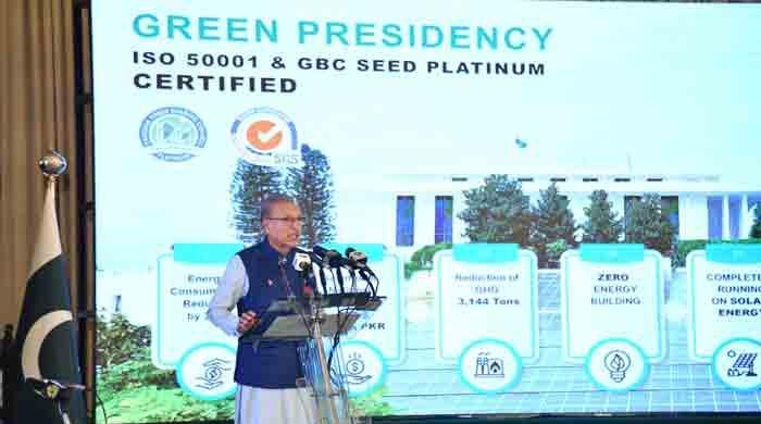 Aiwan-e-Sadr recognised as world's first presidency to go green