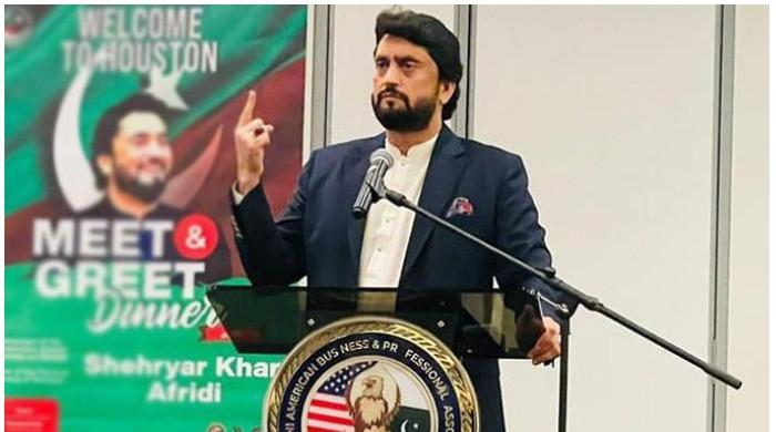 Shehryar Afridi says US airport authorities have 'apologised for questioning him'